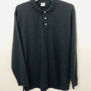 BROOKS BROTHERS Performance polo EST. 1818 gray XL